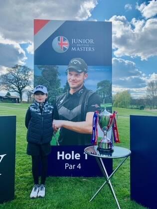 Success for Ava at Junior British Masters