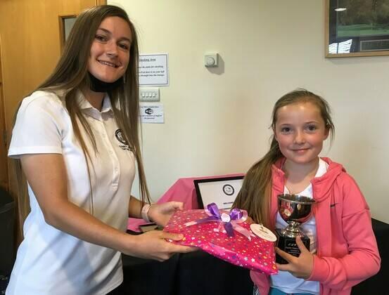 Charlotte wins the Junior Captain's Trophy