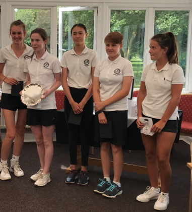 Oxfordshire Girls Triumph at the Midlands South Team Stableford!
