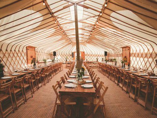 Cheltenham yurts - Long yurt