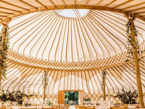 Cheltenham yurts