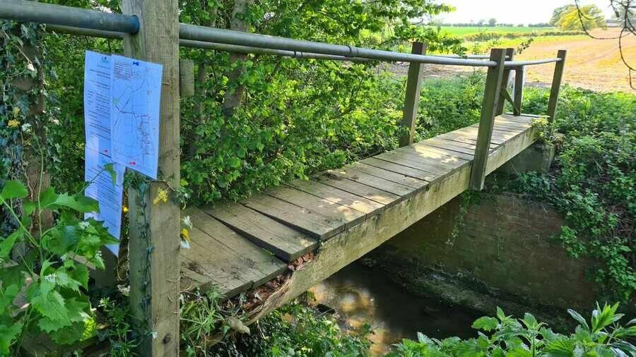 Temporary path closure