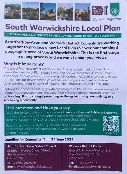 Local people, local plan - consulting now
