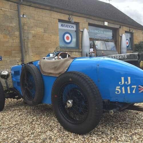 Vintage Blue MG 2